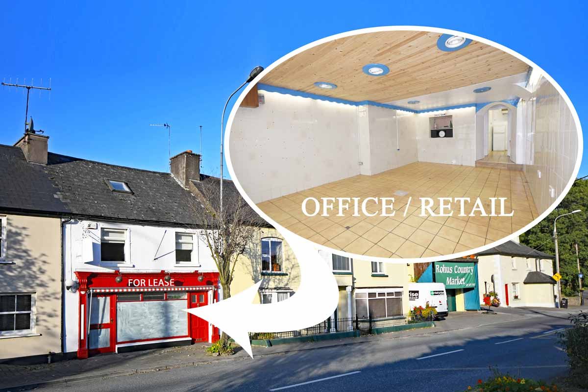 Commercial space to let, innishannon village