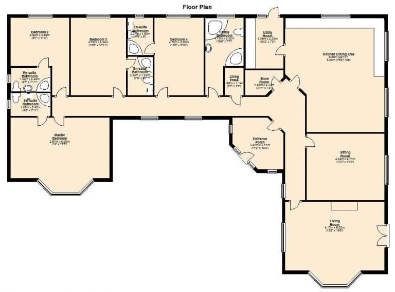 Coolmoreen Innishannon Floor Plan