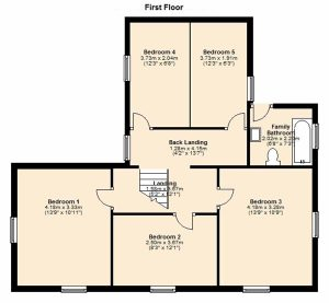 Woodview first floor floor plan