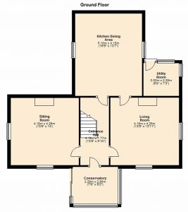 Woodview ground floor floor plan