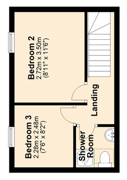 Slide Arrow Right for floor plan