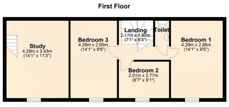 Slide Arrow Right for floor plan
