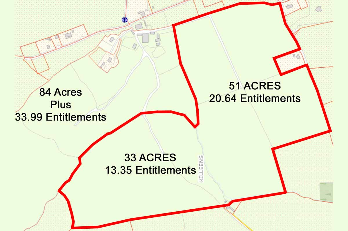 7_Killeens_Farm Map in Two Lots