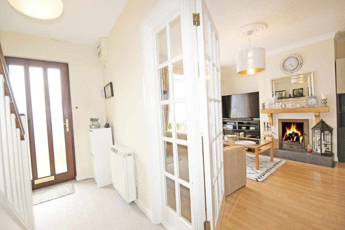 13_Hall and Living Room