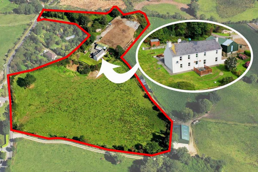 house on 6 acres for sale in Skibbereen