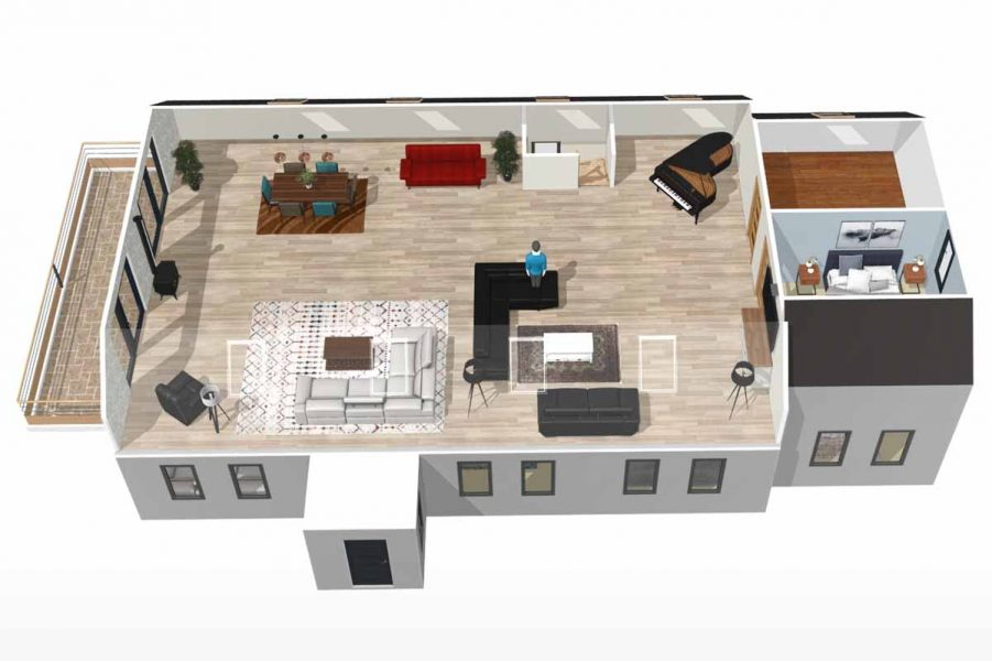 23_First_Floor 3D Model