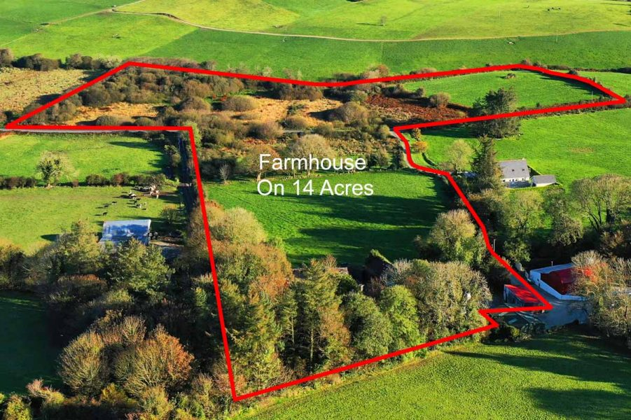 9_14 Acres with old farmhouse